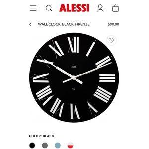 "Alessi ""Firenze"" Wall Clock"